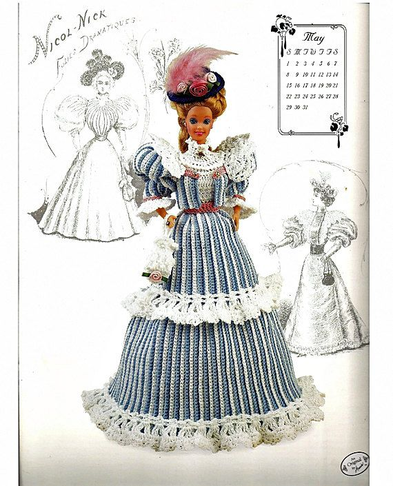 The Gibson Girl Collection of the Gay Nineties May Fashion Doll ...