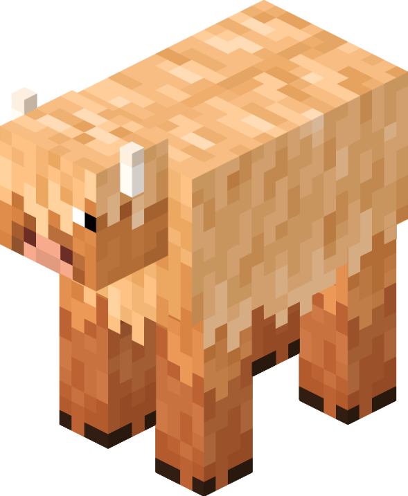 Wooly Cow Minecraft Creations Minecraft Drawings Minecraft Art
