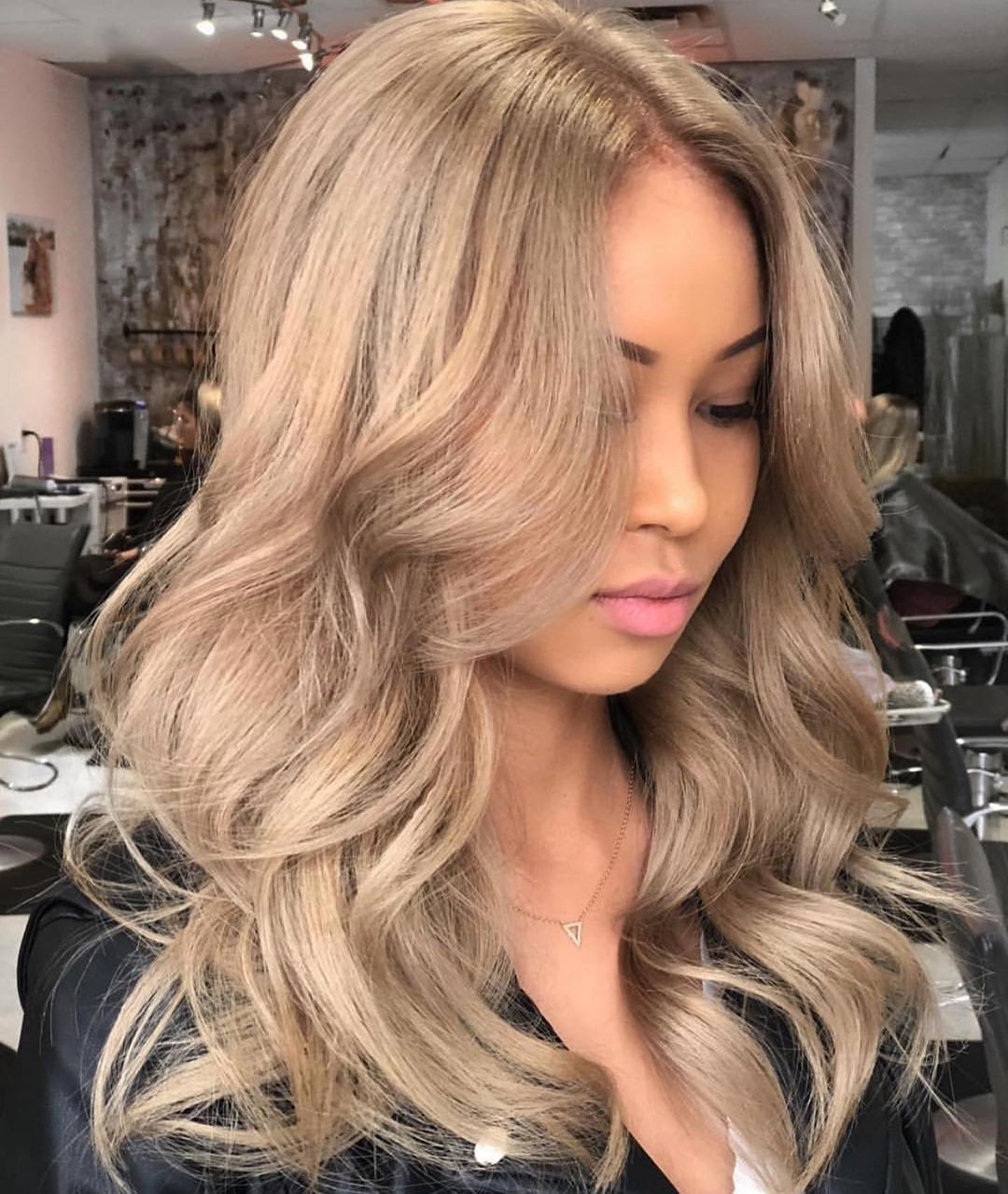 Josie Vilay On Instagram Salty Caramel Not Every Blonde Has To Be Platinum Blonde Find Your Mi Beige Blonde Hair Hair Color Caramel Blonde Asian Hair