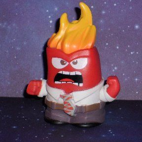 Funko Mystery Mini of Anger from Disney's Inside Out