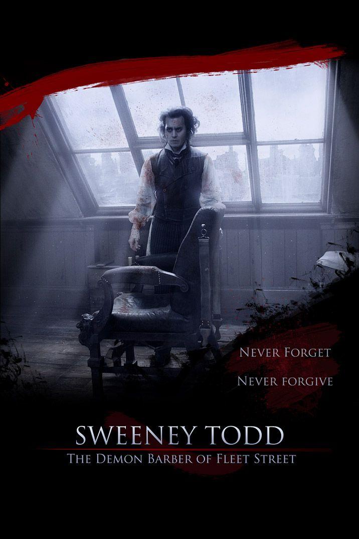 Sweeney Todd The Demon Barber Of Fleet Street 2007 Sweeney Todd Tim Burton Movie Musical Movies