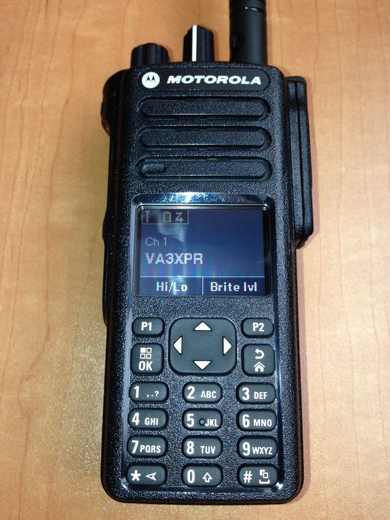 VA3XPR, Motorola, MOTOTRBO, XPR7550, XPR 7550, portable