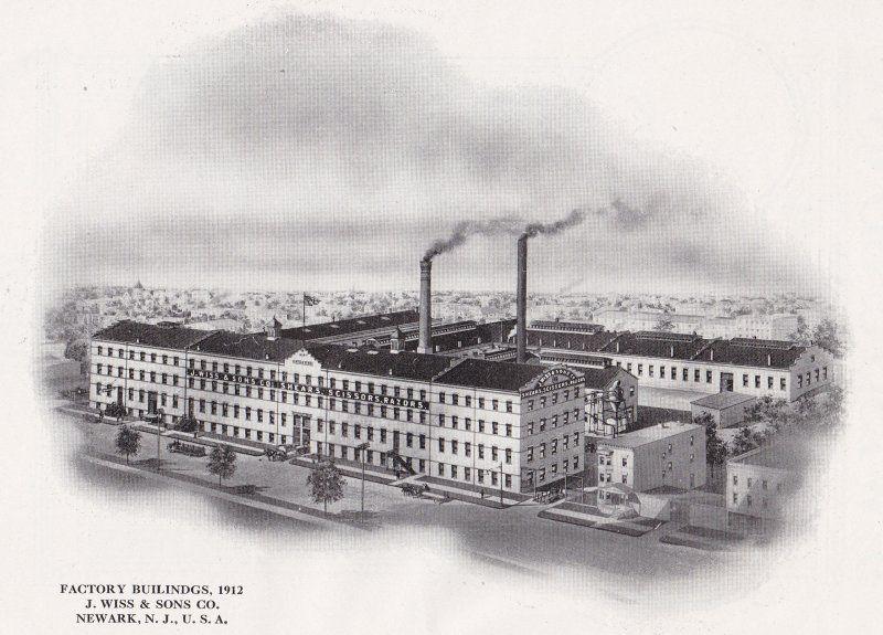 Old P Os Of Newark Nj Brick City Vintage Newark Nj The City Of Industry J Wiss Sons