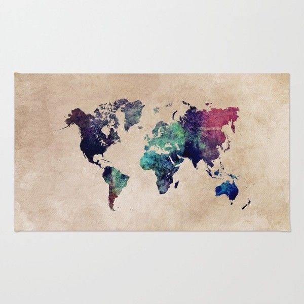Cold world map rug 28 liked on polyvore featuring home rugs cold world map rug 28 liked on polyvore featuring home rugs and gumiabroncs Gallery