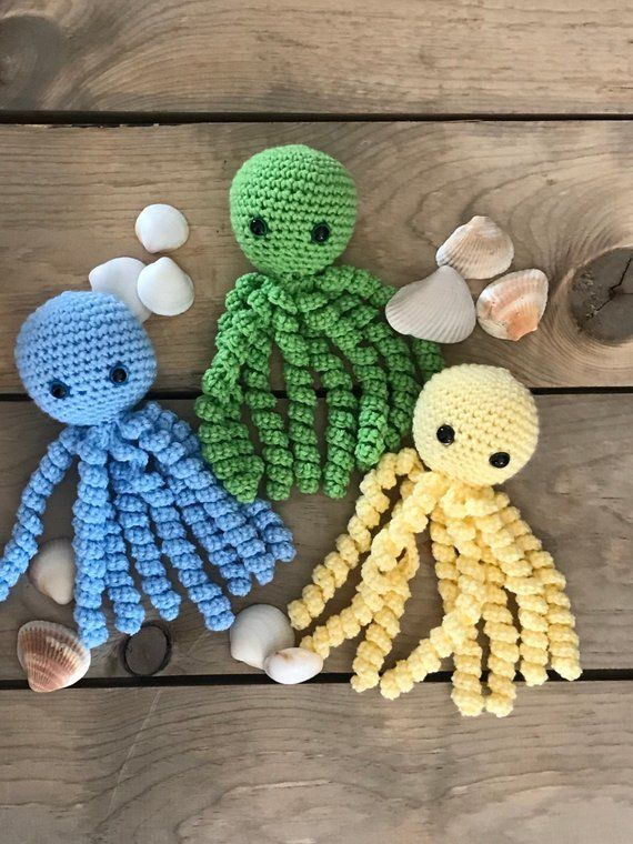 Welcome baby home with a cute baby octopus. Each octopus ...