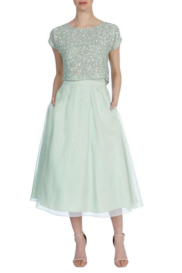 14 Gorgeous Mint Green Bridesmaid Dresses | Grüne ...