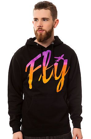 The All Aboard Pullover Hoodie in Black by Fly Society use rep code: OLIVE for 20% off! 10% off for life.
