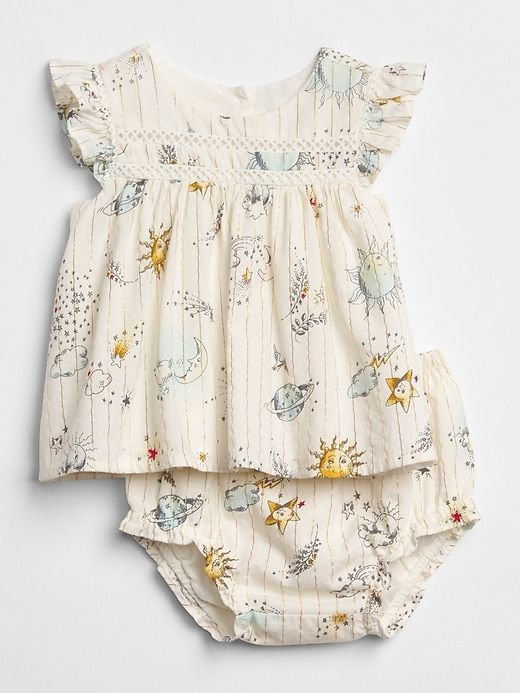 904b970801ae Gap Baby Space Graphic Two-Piece Set New Off White