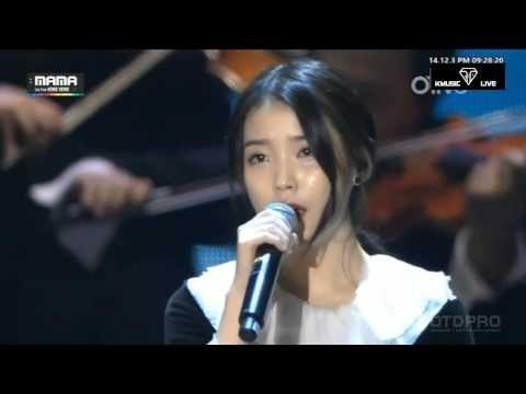 [Live_HD] 141203 IU (아이유) - 날아라 병아리 (Orchestra ver.) #2014MAMA - YouTube