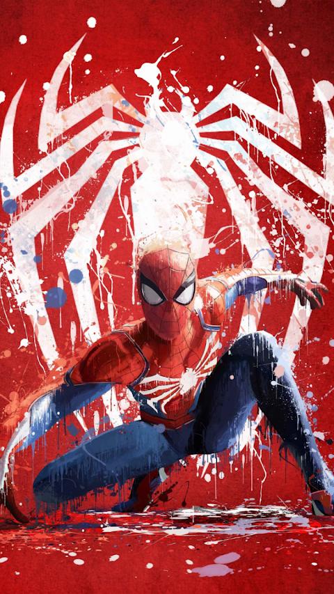 Marvel S Spider Man Ps4 Artwork Wallpaper Spiderman Ps4 Wallpaper Superhero Wallpaper Amazing Spiderman