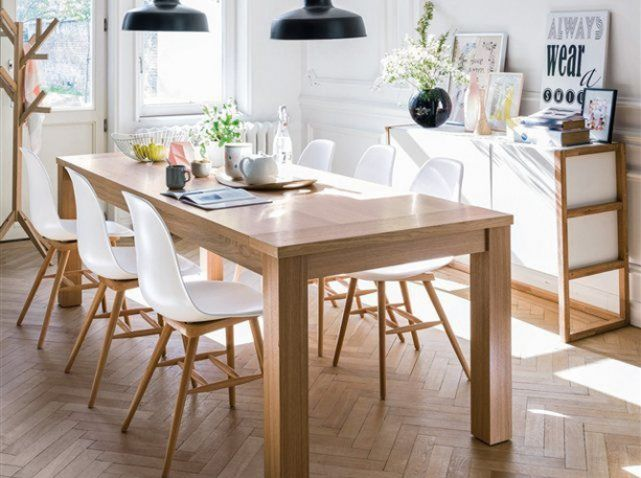 for Salle a manger style scandinave