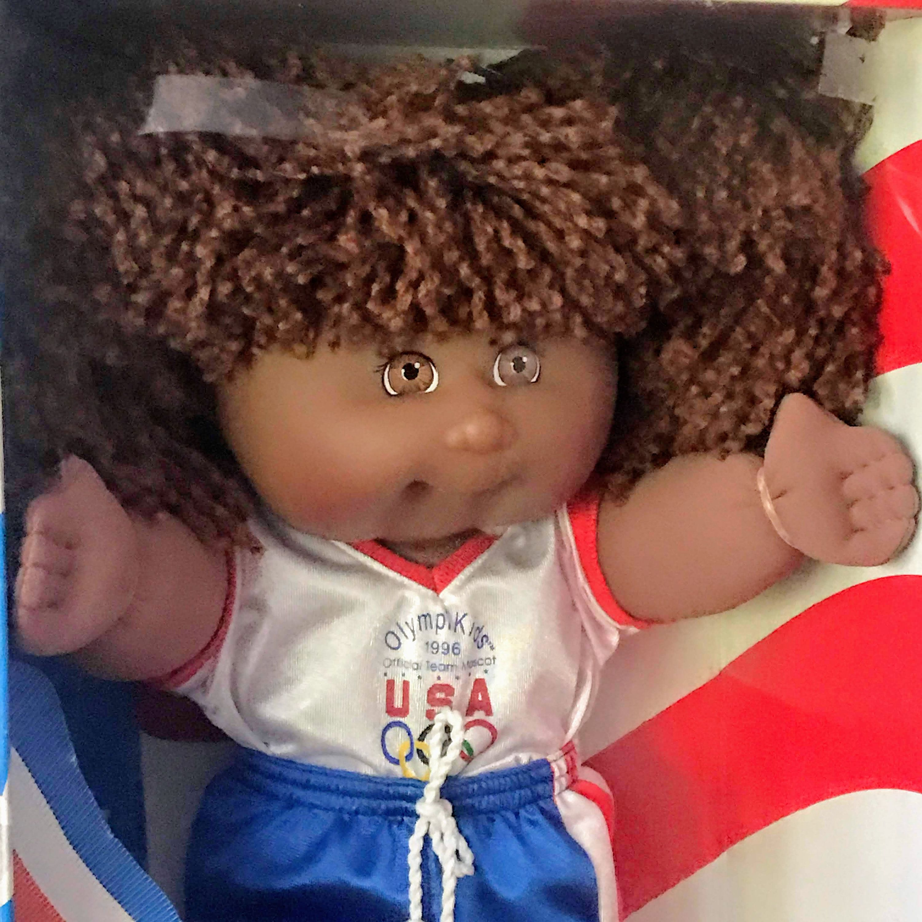 Vintage Doll Cabbage Patch Doll New In Box 1996 Official Etsy Cabbage Patch Dolls African American Dolls Vintage Doll