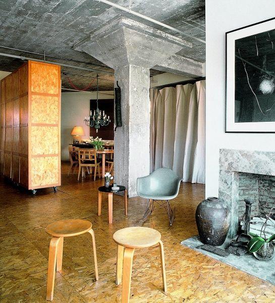 loft-frisco osb floor- really like this chipboard floor ...