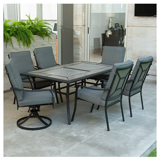 juego de mesa y sillas para exterior incluye 4 sillas