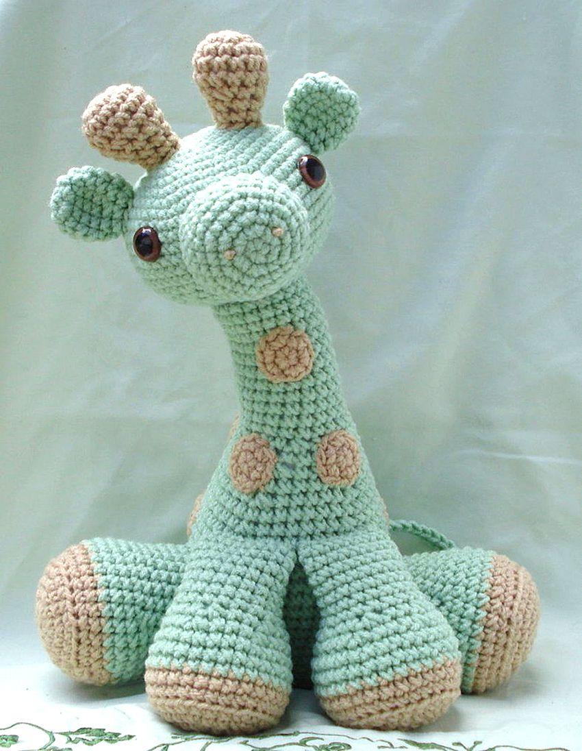 Amigurumi Giraffe Free Pattern | 1096x850