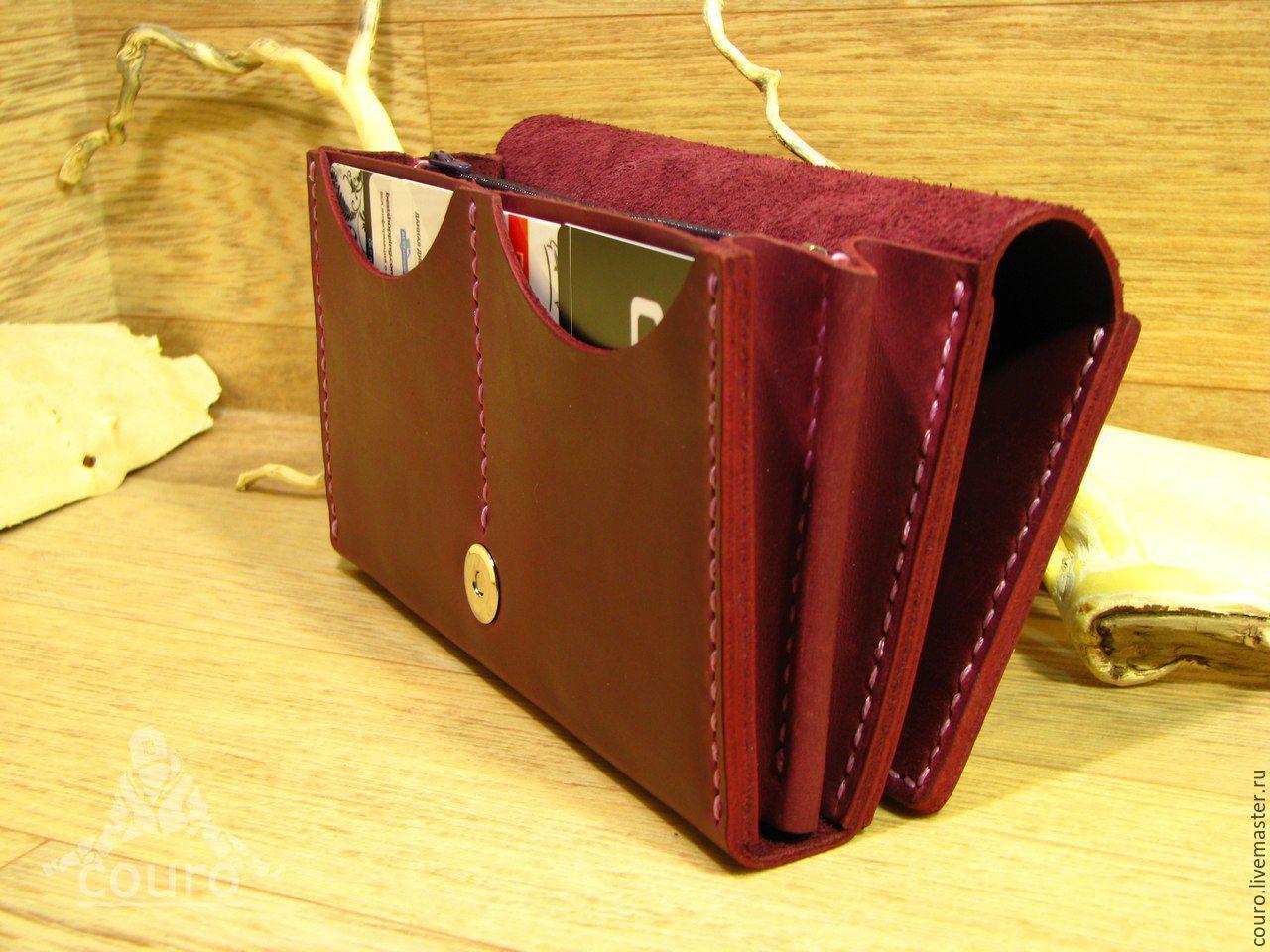 7c513cbb21a4 Купить Женский кошелек из натуральной кожи