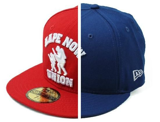 a663b676717 AAPE BY A BATHING APE x NEW ERA「Bape Now Union」59Fifty Fitted Baseball Cap