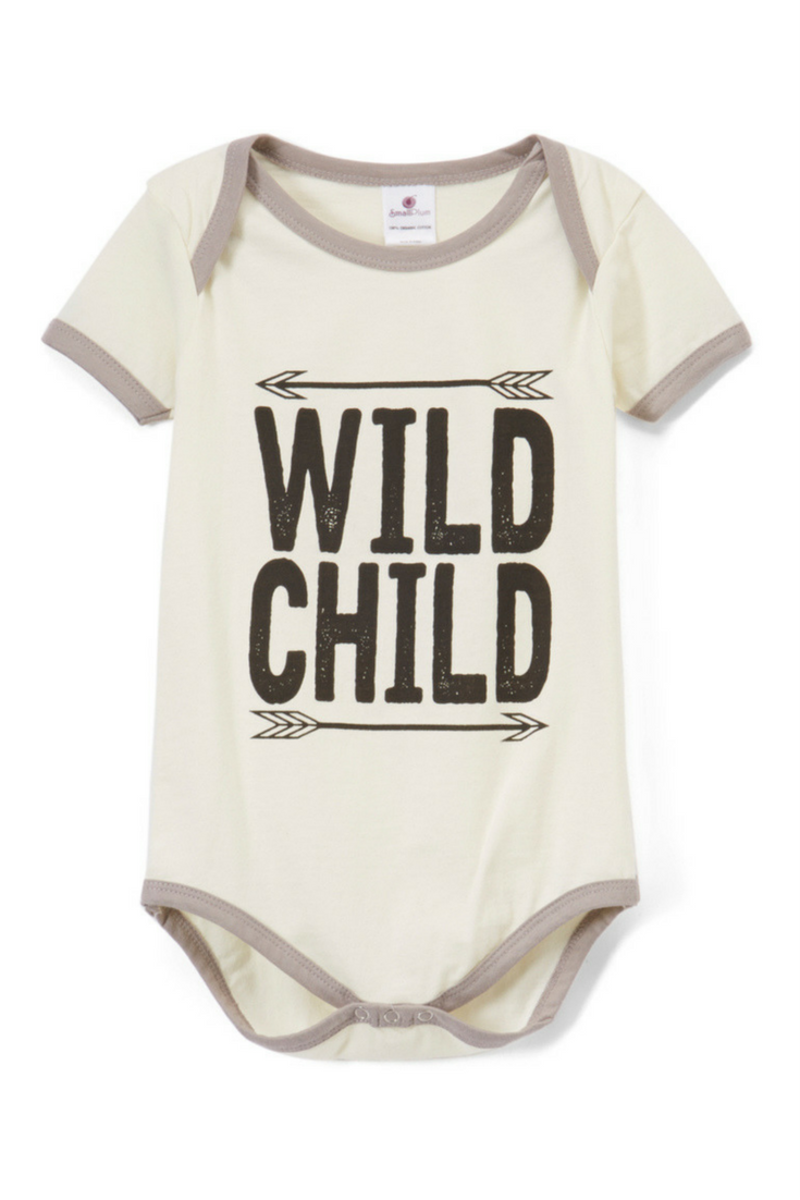 Wild Child Baby Onesie A Fun Bodysuit For Any New Baby Ad Baby