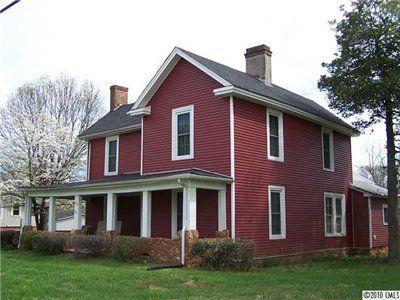 My Red House Farmhouse Exterior House Exterior Exterior Design