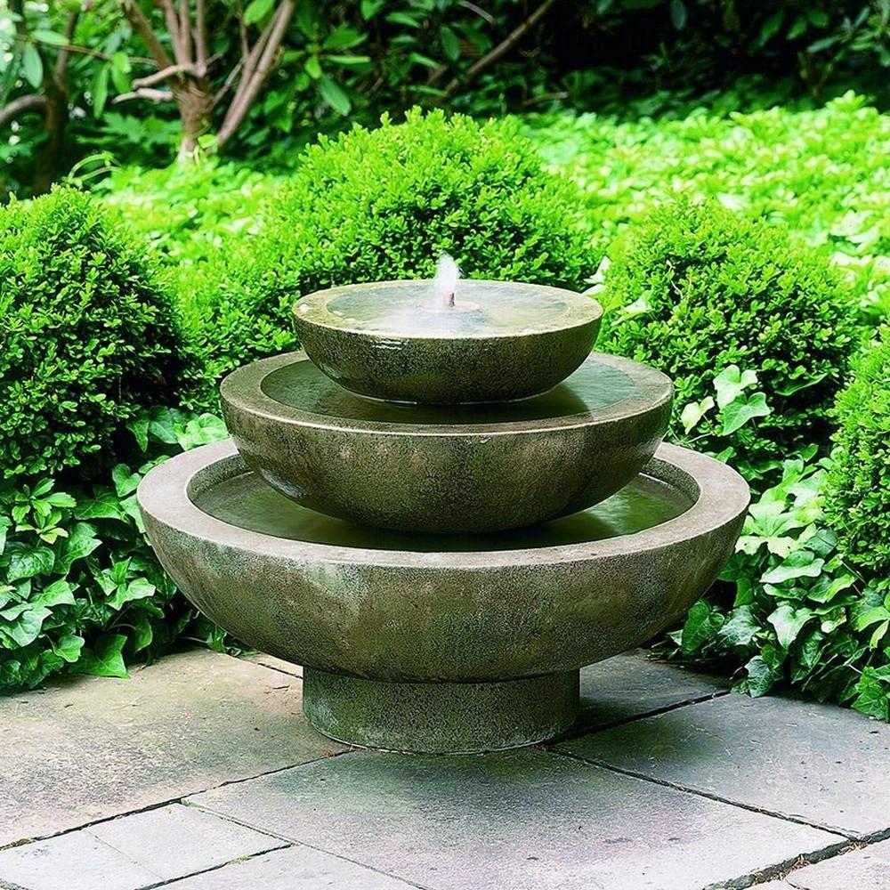 Garden water features  Platia Garden Water Fountain  Garden water fountains Water