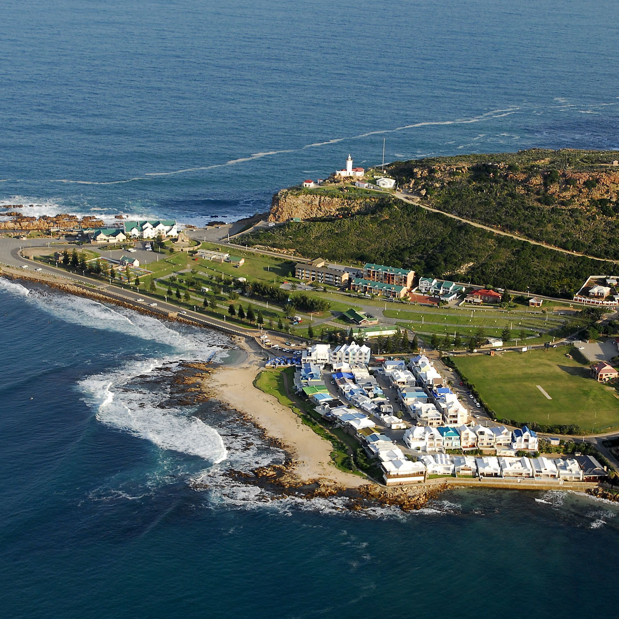 Located 240 miles east of Cape Town, Mossel Bay marks the