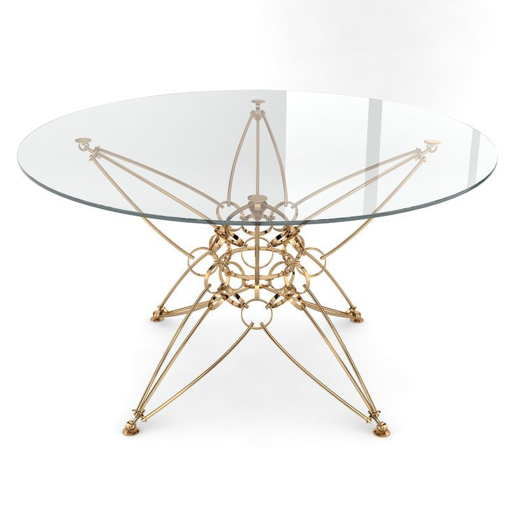 Metal Table, Collectible Design, Modern Furniture By