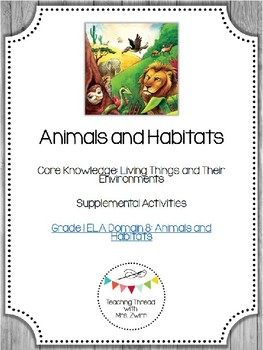 Animal and Habitats EngageNY Extentions in 2020