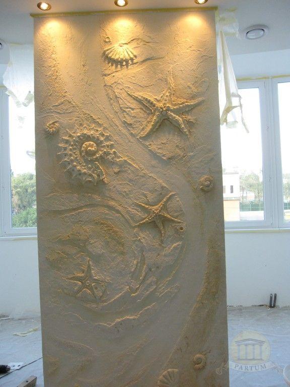 Morskoj Barelef Decorative Painting Decor Home Decor