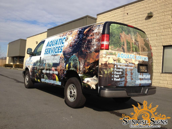 Gmc Safari Vehicle Wraps Van Wrap Fish Tales Gmc Safari