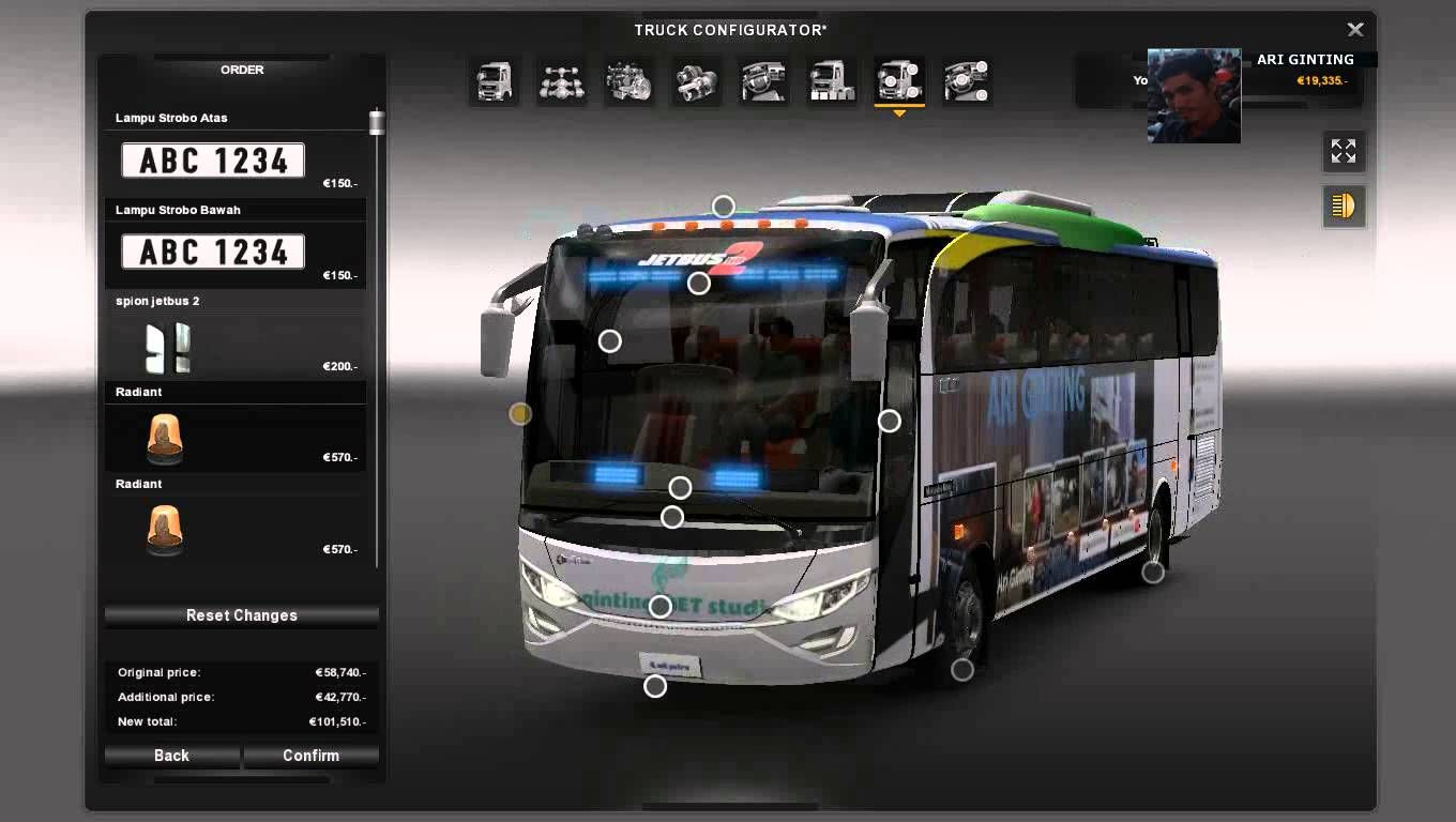 My Desain Livery Mod Bus Games Pc Ets 2 Dvd With Images Bus
