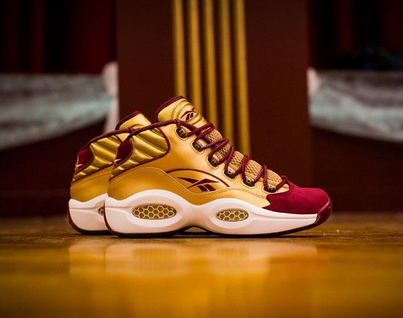"""Packer Shoes x Reebok Question Mid """"Saint Anthony High"""
