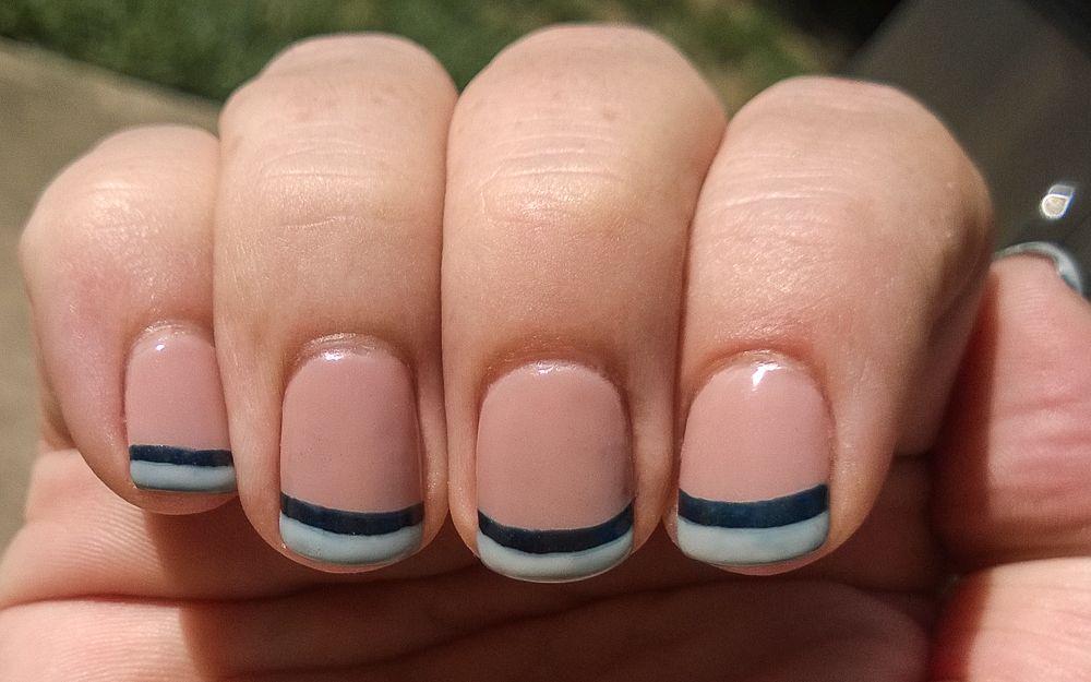 Matte Dragon-Fly Nail Manicure / CND Shellac | Beauty