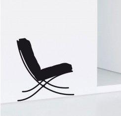 Vinilo silla barcelona - bcn silla - Diversión y Gráficos