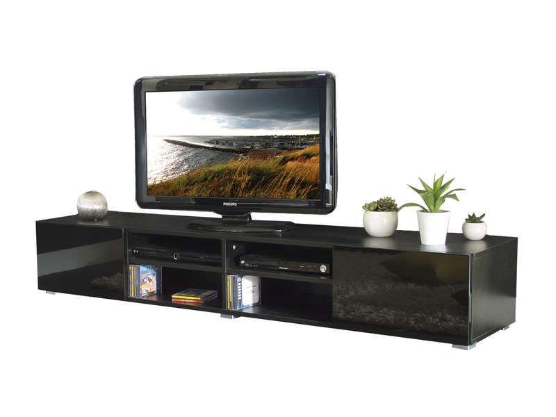 Meuble Tv Magnus Coloris Noir Pas Cher C 39 Est Sur Conforama Fr Large Choix Prix Discount Et Des Offres Exclusives Meuble Tv S Meuble Tv Meuble Tiroir