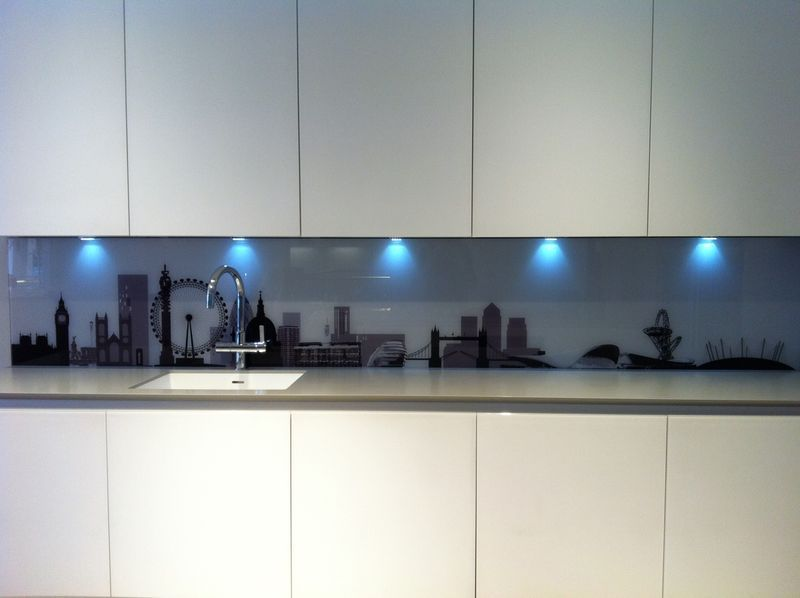 Bespoke London Skyline With Velodrome And Aquatic Centre