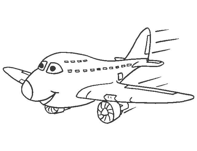 Airplane Coloring Pages To Print For Free Freecoloring Pagesorg