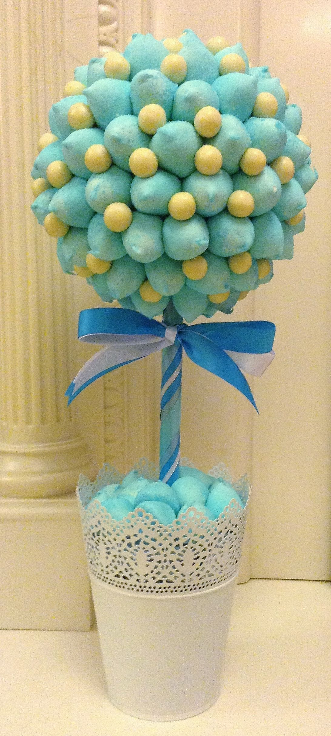 how to make a sweet tree with maltesers
