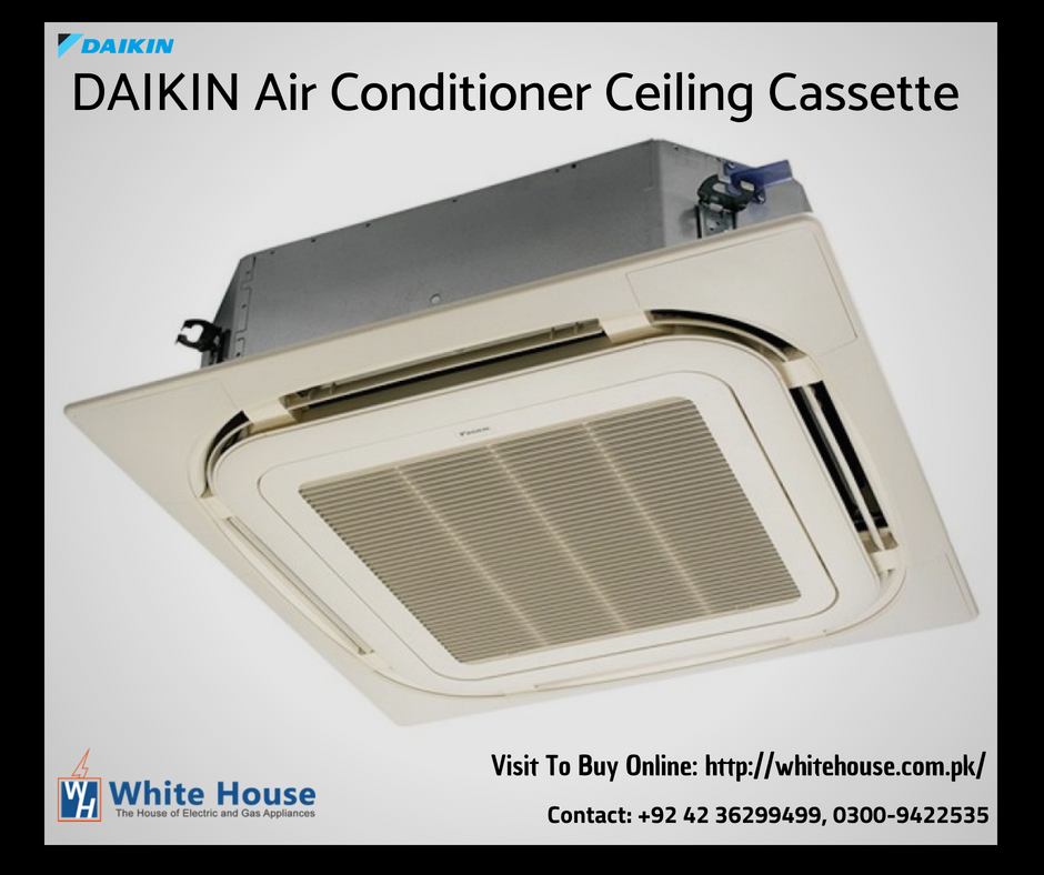 Planning to buy a ceiling cassette air conditioner? White