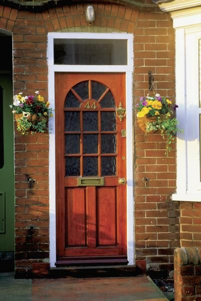 How To Keep A Freshly Painted Exterior Door From Sticking Painted Front Doors Wood Exterior Door Exterior Doors