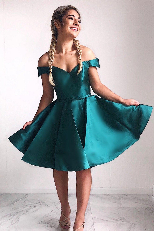 A Line Short Prom Dress Homecoming Dresses Graduation Party Dresses 701024 Teal Homecoming Dresses Teal Prom Dresses Teal Bridesmaid Dresses [ 1500 x 1000 Pixel ]