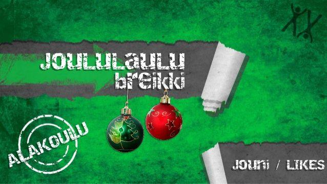 x-breikki joululaulut