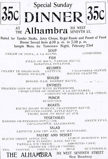 9 Century-old Menus from L A  Eateries of Yore | Old menus | Menu