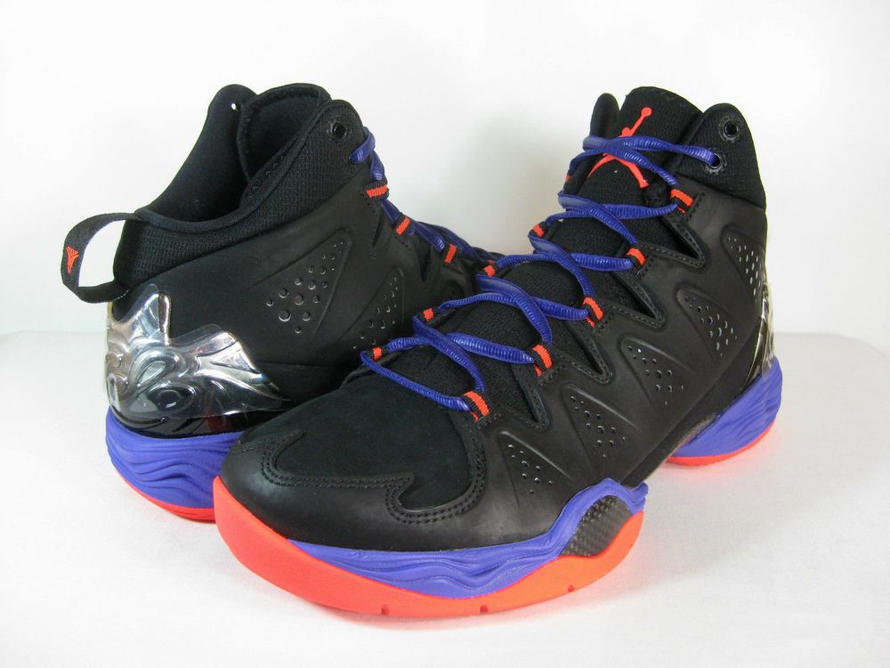[629876 053] NIKE AIR JORDAN MELO M10 BLACK/INFRARED 23-DARK CONCORD