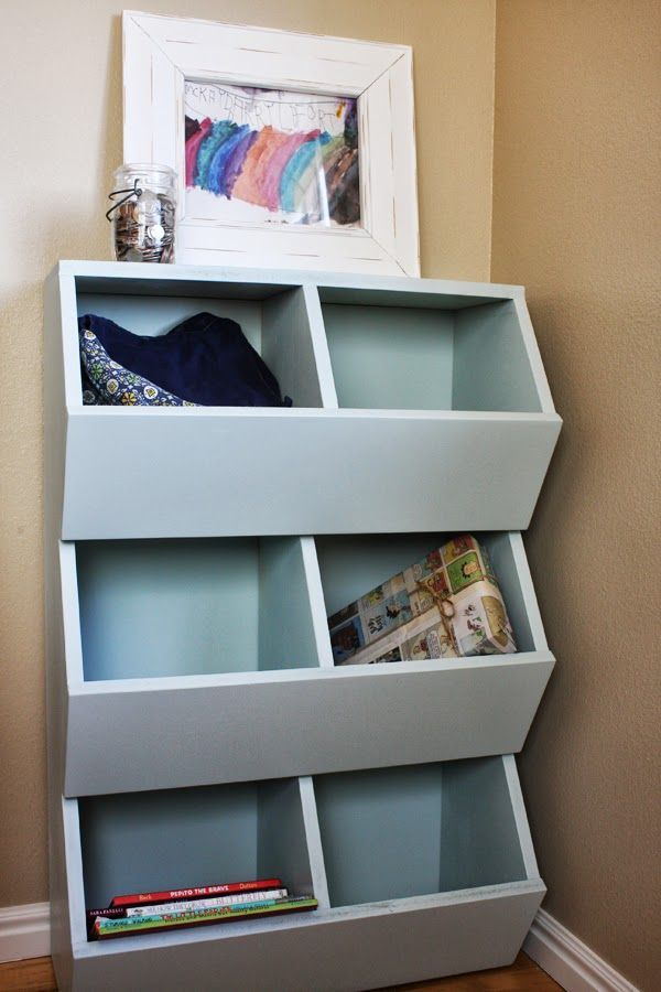 Captivating We Just Added Plans For These 6 Bin Storage Shelves To The Shop Today. They