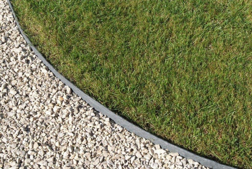 Ecolat duurzame ecologische afboording voor tuinpad for Bordures jardin pvc