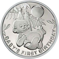 2020 Dated 25th Anniversary 1oz 999 Fine Silver Round by SilverTowne in Gift Box
