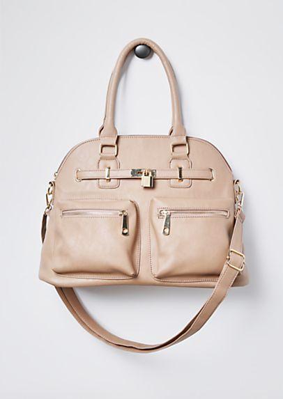 Lock Up Oversized Satchel Rue21 Trendy Handbags Rue 21 Cute