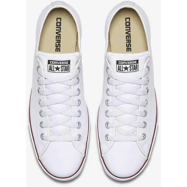 3754b2bf1d01 Converse Chuck Taylor All Star Lean Leather Low Top Unisex Shoe. ( 65) ❤  liked on Polyvore featuring shoes