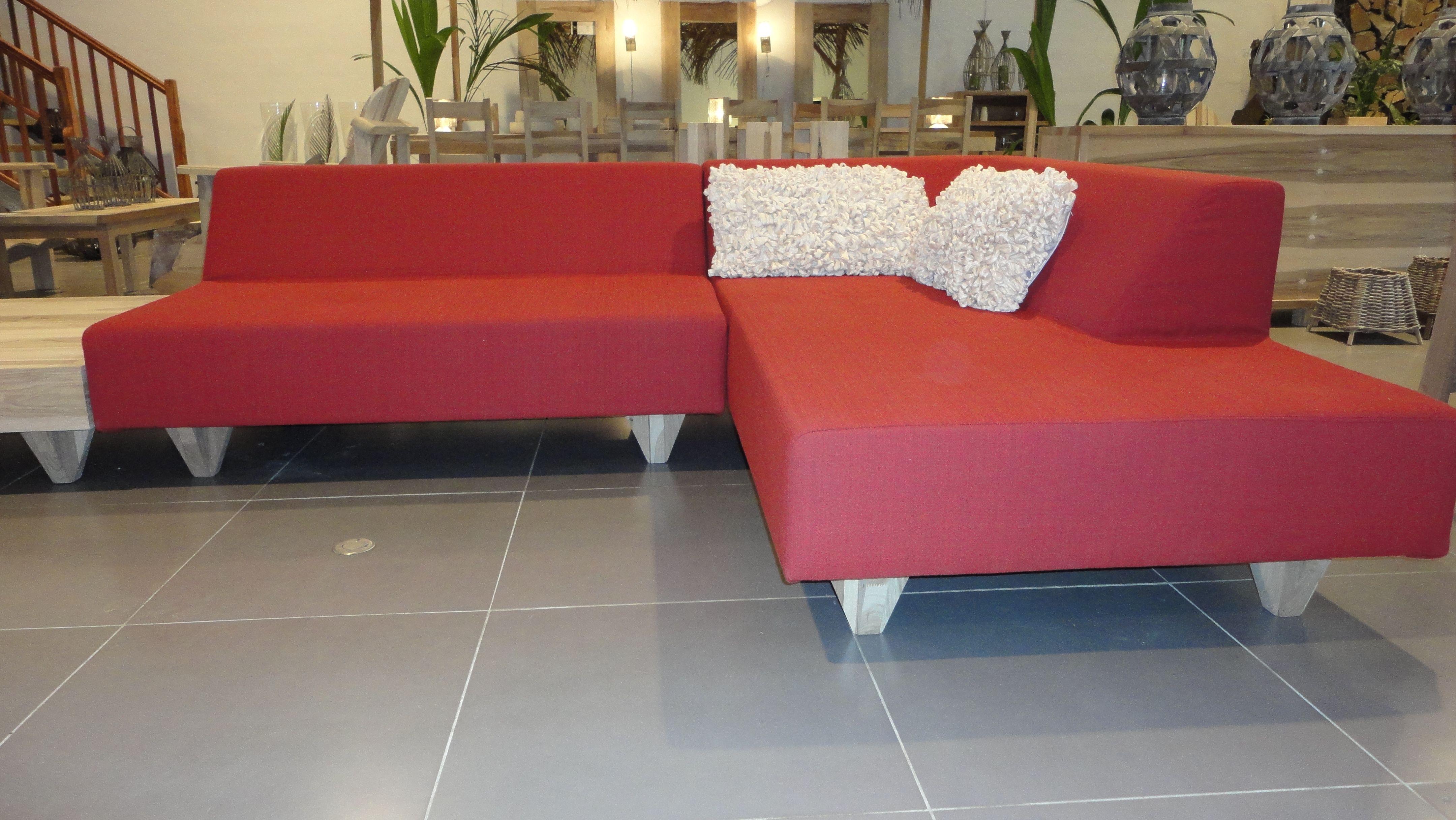 Canape Modulo Cree Par Malain Factory Pour Bois Nature Guadeloupe Et Martinique Sectional Couch Couch Home Decor