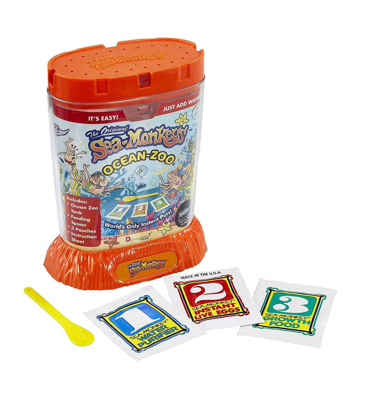 Sea Monkeys 80482 Ocean Zoo Color May Vary Find Out More By